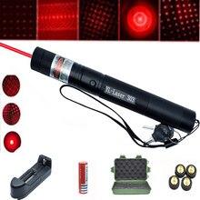 High Power Red Laser Pointer 5MW Red Dot Lazer Light Pen Powerful Laser 10000 Meter 2 in 1Detachable Laser Pen