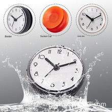 Yu Shi Zhong Chuck Mini Day Korean Clock Paste Clock OEM Table Waterproof Wall Anti-fog Kitchen Xi Pan Zhong Silicone Digital ding guang qi zhi wu zhong ming shi