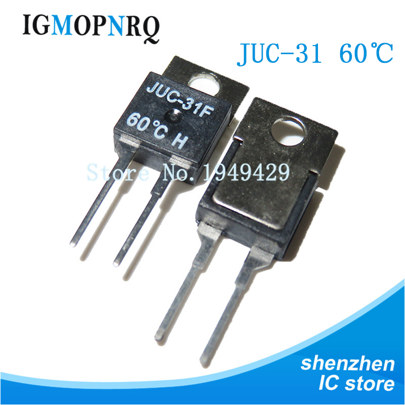 5pcs 40 45 50 55 60 65 70 75 80 85 DegC NC Normally Clenched 1.5A Temperature Switch Thermostat Thermostat KSD-01F JUC-31F image