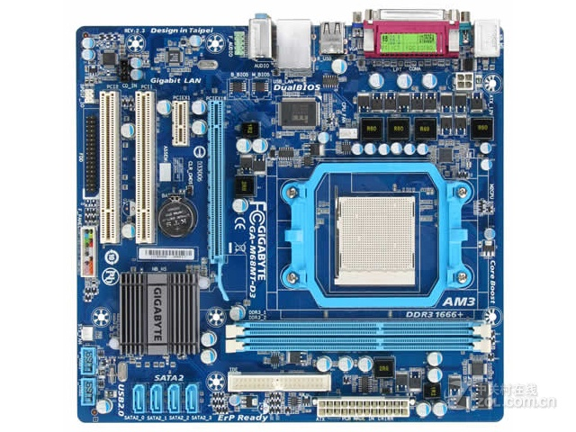 Original Desktop Motherboard For Gigabyte GA-M68MT-D3 GA-M68MT-D3P DDR3 Socket AM3 GM68MT-D3P M68MT-D3 USB2.0 Motherbaord