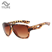 TTLIFE Color Cool Double Beam Sunglasses Women 2019 Uv Protection Stars With Bright Glasses Vintage Sun Shadow Driver