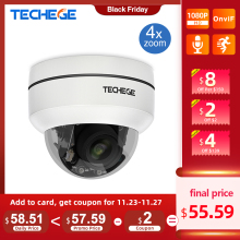 Cctv-Security-Camera Optical-Zoom-Speed Techege Dome Mini Onvif Ptz Ip POE 4X 48V RTSP
