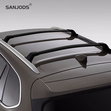 SANJODS Car Roof Rack Pair OE Style Bolt-On Top Rail Roof Rack Cross Bar Luggage Carrier Replacement For Buick Envision 16-18 sanjods car roof rack pair roof rack top rail aluminum cross bar replacement for toyota rav4 adventure 2019 2020