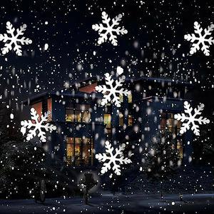 ZUCZUG Christmas Snowflake Las