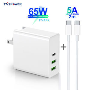 Charger Cable Power-Adapter Macbook USB-C Pro/air-iPad Laptop Samsung QC3.0 45W 65W PD60W