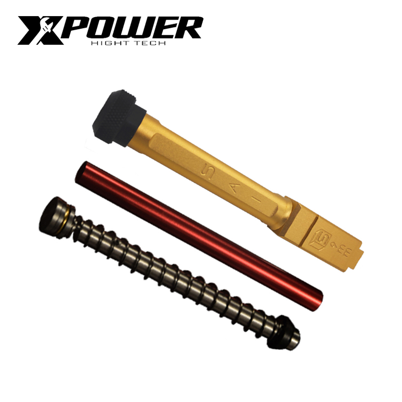 XPOWER SAI TM Systerm Outer Barrel G17/18 Fit Kublai  P1 Upgrade Package Glock 17 Airsoft Accessories