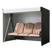 ABUI Garden Swing Cover 3 Seater Swing Hammock Cover Outdoor Garden Patio Protector Sun Shade Waterproof Chair Cover