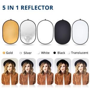 Image 3 - Capsaver 60*90 Cm Opvouwbare Reflector 5 In 1 Multi Disc Photo Reflector 24*35 Inch Draagbare Ovale licht Diffuser Fotografie