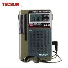 TECSUN R-818 Radio FM/MW/SW podwójna konwersja odbiornik radiowy World Band z wbudowanym głośnikiem Radio internetowe Portatil