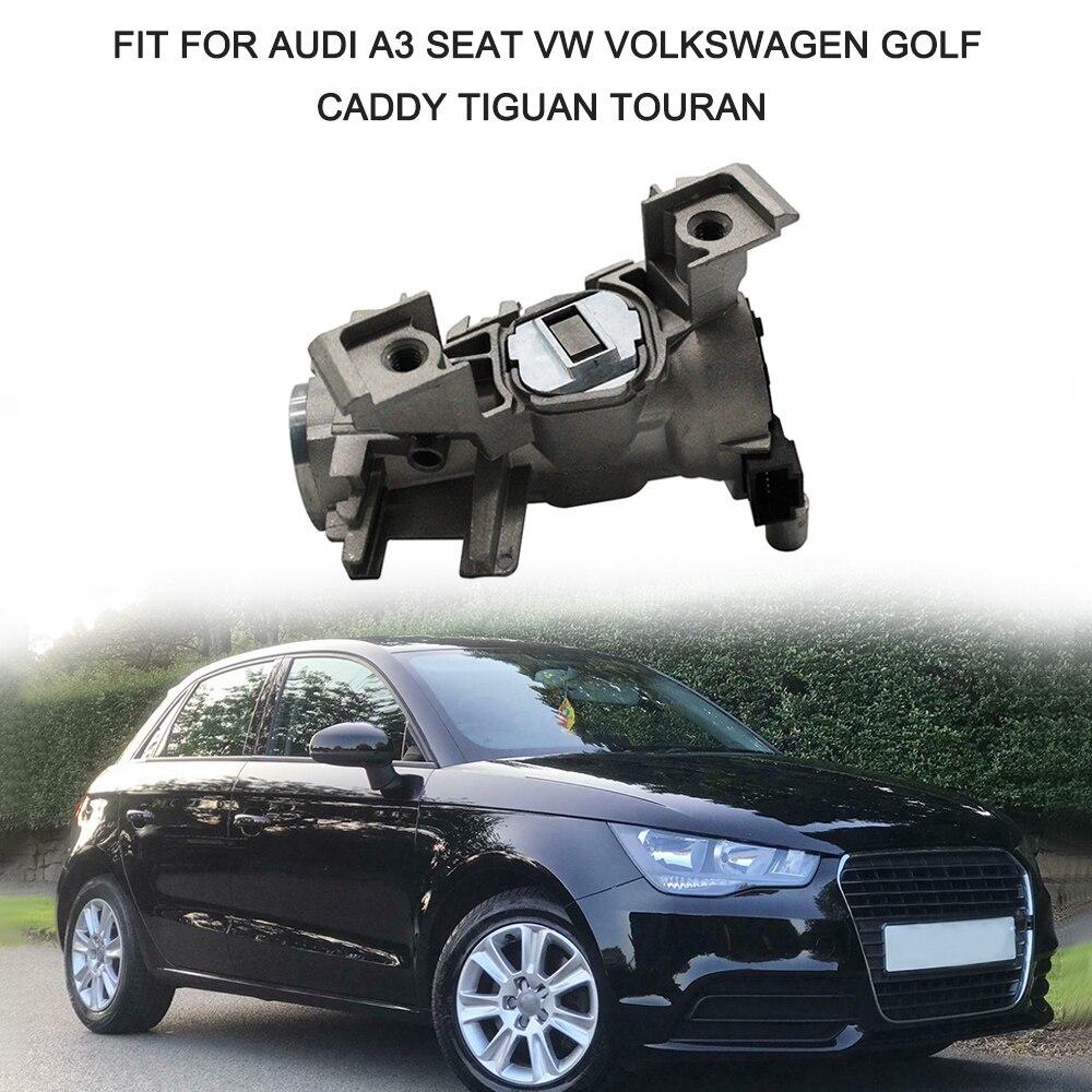 Hot New Car Ignition Switch Lock Barrel Starter Keys Fit for Audi A3 VW Volkswagen Golf Caddy Tiguan Touran