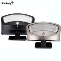 4 Modes Outdoor Led Solar Lamp Light 36 LEDs Waterproof Wall Lamp PIR Motion Sensor SOS Security Wall Lamp #