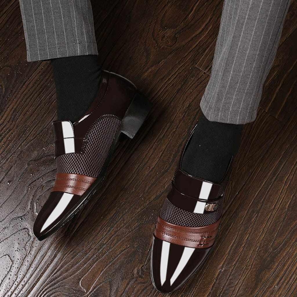 לופרס גברים הלבשה נעלי יוקרה שמלת ערב רשמי נעל לגברים חתונה הלבשה נעל מותג פורמליות יגבה גברים קלאסי נעליים