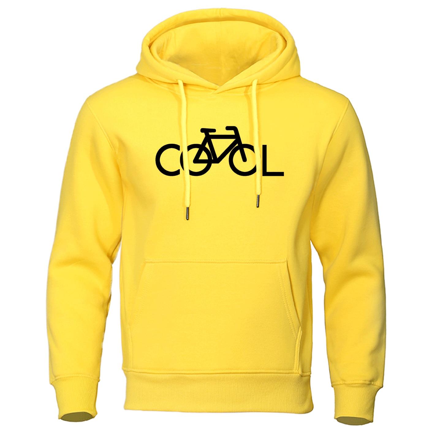 2019 Autumn Winter Hoodie Sweatshirt Man Casaul Bike It's Cool Hoodies Men Leisure Warm Brand Pullover Mens Clothes Streetwear