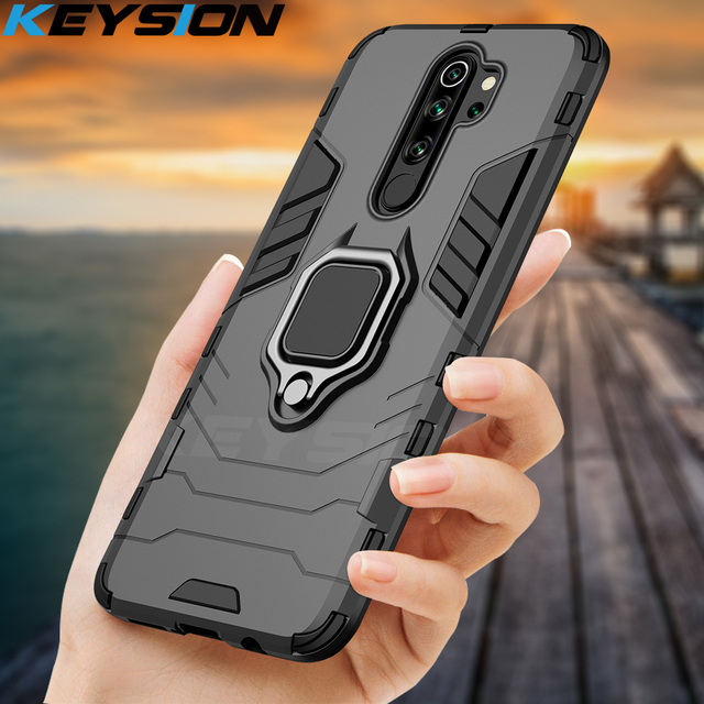KEYSION Shockproof Case for Redmi 9A 9C Note 8 Pro in Accra, Ghana 1