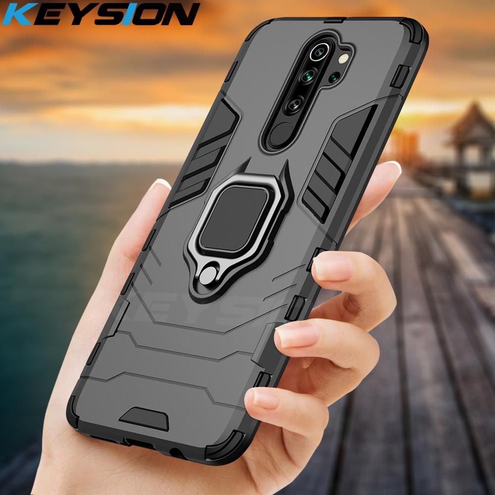 KEYSION Shockproof Case for Redmi 9A 9C Note 8 Pro 9s 8 8A 7 7A 8T K20 Back Phone Cover for Xiaomi Mi 9T A2 A3 Mi 9 SE mi 9 lite(China)