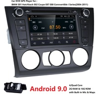Free shipping Android8.1 Car Multimedia for BMW E81 E82 E88 2004 2011 1 Series with 2G RAM Radio AMP SWC DVR RDS DAB DVBT 4GWIFI