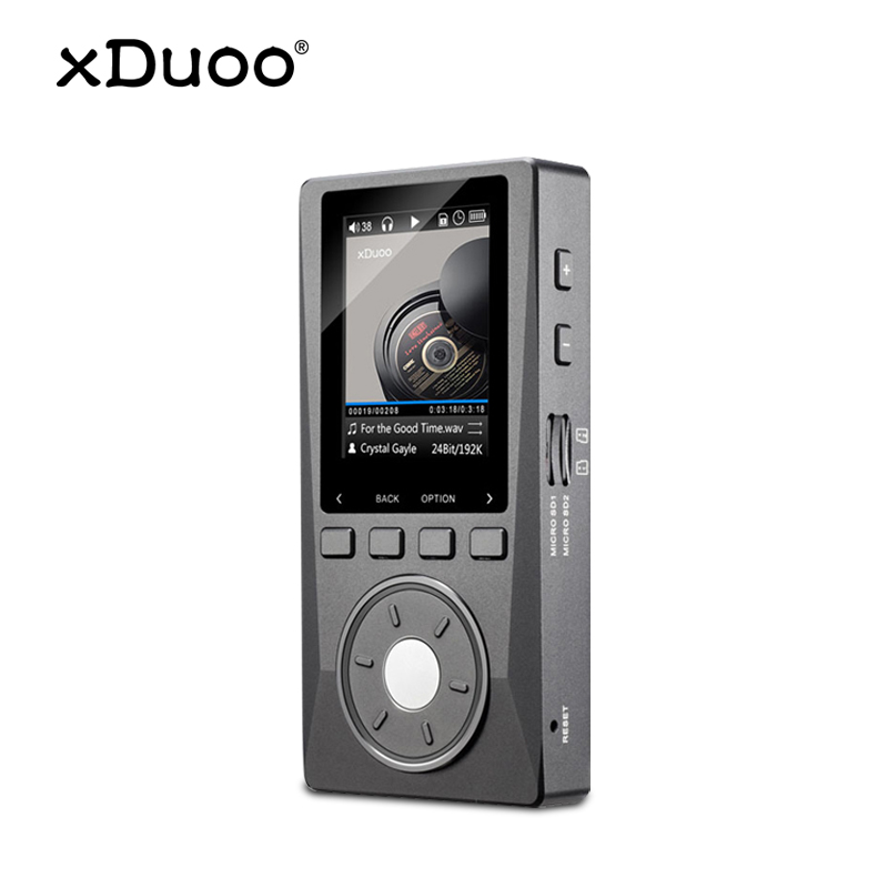 XDUOO X10 ハイファイポータブル高解像度ロスレス DSD 音楽プレーヤーアンプサポート光出力 24Bit/192 125khz OPA1612 pk X3music playerdap playerplayer music -