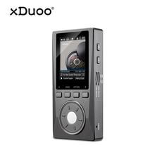 XDUOO X10 ハイファイポータブル高解像度ロスレス DSD 音楽プレーヤーアンプサポート光出力 24Bit/192 125khz OPA1612 pk X3