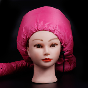 Image 3 - Pro Salon Home Use Hair Dryer Cap Portable Hair Perm Nursing Warm Diffuser Hat Hair Care Steamer Accessories DIY Home