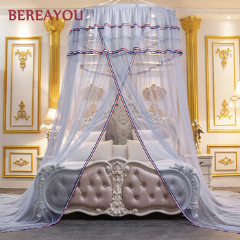 European Mosquito Net Bed Canopy Girls Room decor Hung Dome Bed Mantle For Bedroom Floor-standing Bed Tent mosquitero para cama