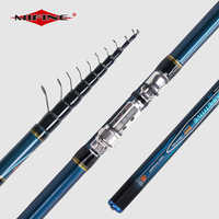 MIFINE COMPETITIVE Telescopic Bolo Fishing Rod 4/4.5/5/6M HIGH CARBON Trout Travel Ultra Light Spinning float fishing 10-30G