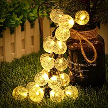 Solar String Lights LED String Fairy Lights Outdoor Lighting Solar Lamp Waterproof Led Solar Light for Garden Decoration Garland