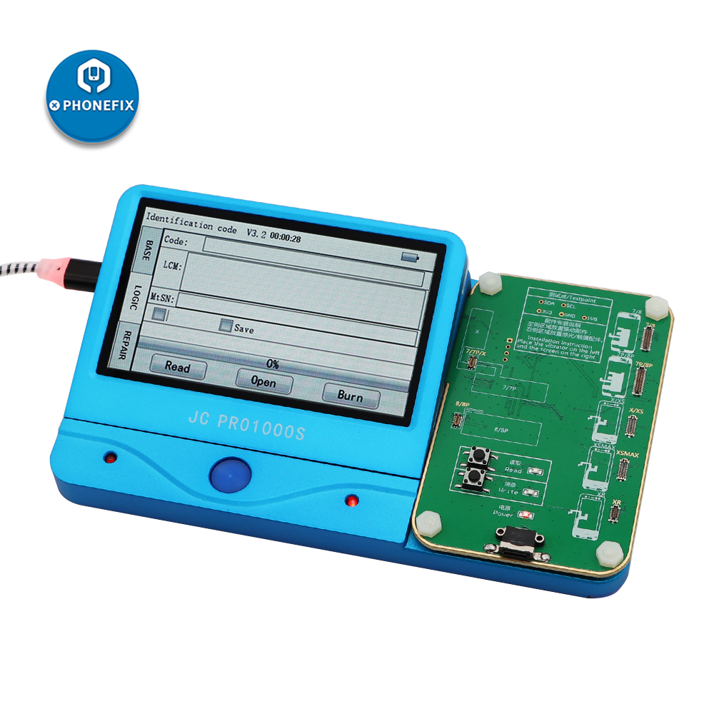 JC Pro1000s LCD Screen Photosensitive Data Read Write Module Light Sensor Programmer for iPhone 7 7P 8 8P X  XS MAX  11 PRO MAX