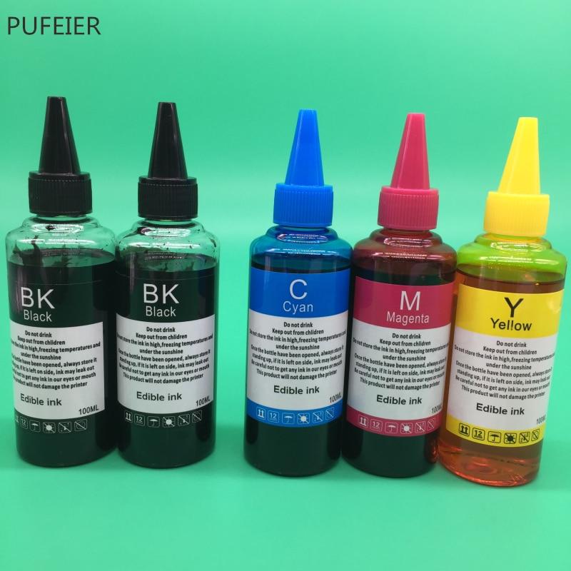 5 botellas de PGI 270 CLI 271 tinta comestible para Canon PIXMA MG5720 MG5721 MG5722 MG6820 MG6821 MG6822 TS6020 TS5020 PGI270 CLI271 tinta-in Kits de recarga de tinta from Ordenadores y oficina on AliExpress - 11.11_Double 11_Singles' Day 1
