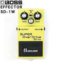 Boss overdrive sd-1w super single block distortion guitar comprehensive effect device new pedal