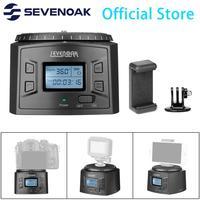 Sevenoak SK EBH2000 Electronic Pro Ball Head Panoramic Head Timelapse Tripod for iPhone 8 Action Camera DSLR Camera Camcorder