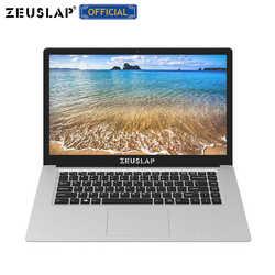 ZEUSLAP 15,6 дюймов Intel 4 ядра процессор ГБ оперативная память 64 EMMC оконные рамы 10 системы 1920*1080 P ips экран нетбук ноутбук тетрадь компьютер