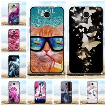 For Huawei Y5 2017 Case Silicone Black Cover Y6 Luxury 3D Cute Bags III / Honor 6 Play Cases