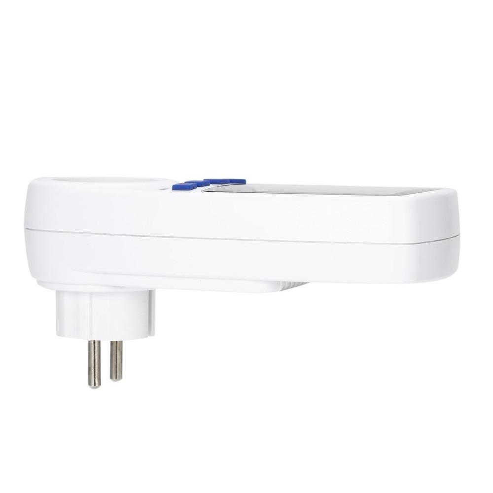 Купить с кэшбэком digital wattmeter electric power watt meter energy voltage EU plug electronic monitor AC Meters 220v electricity consumption New