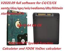V2020.09 mb estrela c4 c5 6 vci software completo xenry/scn/das/epc placa de dados/hhtwin/wis/ewa/starfinder/vediamo/dts-mónaco/fdok/vedoc