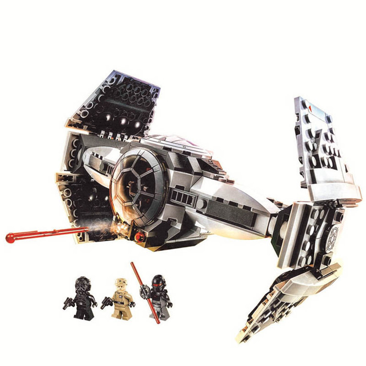 354pcs For Iegoelys Lepining Star Wars The Force TIE Advanced Prototype Awakens Building Block Toys Gifts Toys Kids Toys 75082