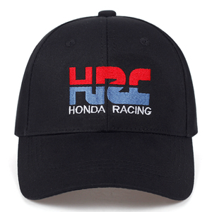 High quality Baseball Cap HRC Honda Racing Car Fans1 embroidery Mens Womens Baseball Caps Adjustable Snapback Hats Bone(China)