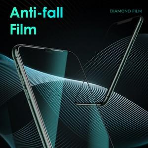 Image 3 - Benks XPRO 3D מעוקל קצה מלא כיסוי מגן מזג זכוכית עבור iPhone 11 פרו MAX XR X XS 0.4mm מסך מגן זכוכית סרט