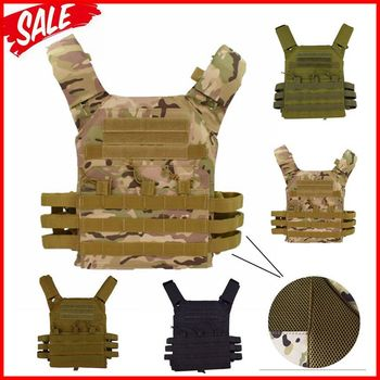 jpc 600D Hunting Tactical Vest Military Molle Plate Carrier Magazine Airsoft Paintball CS Outdoor Protective Lightweight Vest military army combat jpc plate carrier molle vest tactical outdoor hunting shooting men airsoft paintball protective body armor