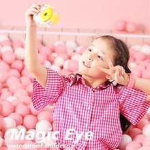 New 8.0MP Kids HD Wifi Digital Camera 2.4 LCD Mini Double Lens Doughnut Waterproof Cute Children Birthday/Christmas Gift