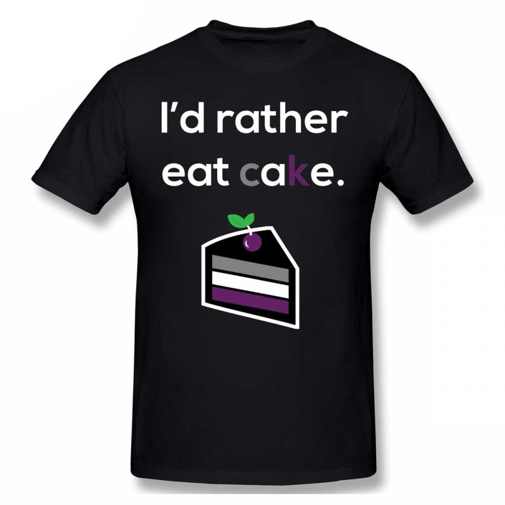 Asexual T Hemd Asexual Oder Asexuality Humor Stolz Hemd T-Shirt 100% Baumwolle Männer T Shirt Oversize Casual Lustige T-shirt
