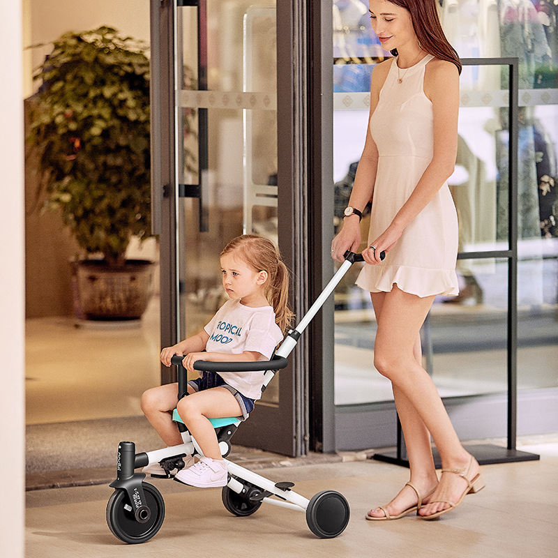 Nadle Light Car Multifunctional baby stroller two-way stroller children slip baby artifact hand push tricycle foldable