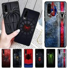 Cute animal spider TPU Soft Silicone Phone Case Cover For Huawei P9 10 20 30 40 P Smart 20lite 2019 P30 lite Pro P9 lite 2017 phone cases for huawei p9 lite 3d cute cartoon plants cactus soft silicone back cover capa for huawei ascend p9 p9lite fundas