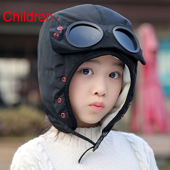 2020 New original design fashion warm cap winter men winter hats for women kids waterproof hood hat with glasses cool balaclava 16