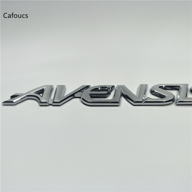 185 23mm for Toyota Avensis Car Rear Tailagte Boot Emblem Stickers Trunk Badge logo Auto Decal