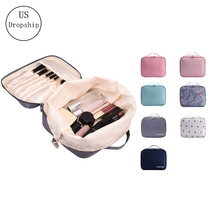 New Women Cosmetic Bag Multifunction Makeup Organizer Portable Lady Square Box Travel Necessity Beauty Toiletry storage bag