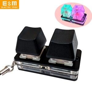 9 клавиш макро OSU программируемая RGB подсветка механическая клавиатура электрический конкурс игра ПК ноутбук MAC WIN Geeker Outemu переключатель