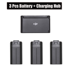 3PCS Original DJI Mavic Mini Battery + Drone Batteries Charging Hub For Dji Mavic Fly Accessories