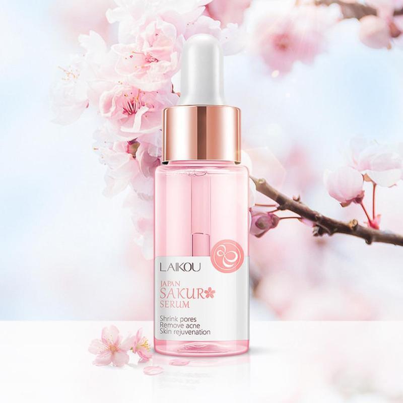 Cherry Blossom Hyaluronic Acid Pure Whitening Moisturizing And Hydrating Skin Care Face Serum