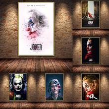 Joker Movie Art Decor Bar Cafe Oil Painting on Canvas Posters and Prints Cuadros Home Decoration Kids Room Poster gringo movie poster posters