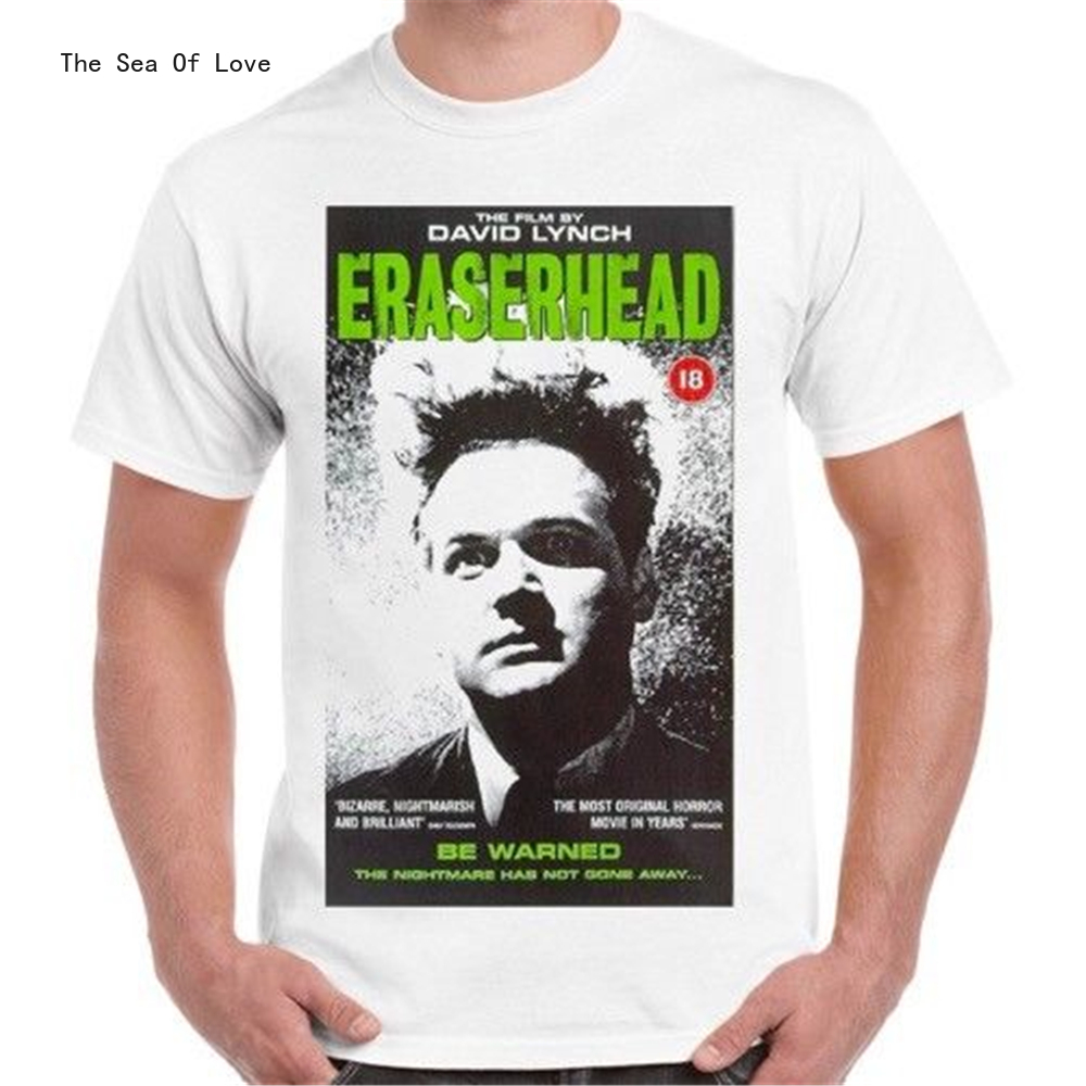 The Sea Of Love Eraserhead David Lynch Cult Horror Movie 70S Vintage Retro T Shirt 298 Homme Plus Size Tee Shirt 2020 image